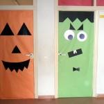 Las puertas de las clases se han transformado.