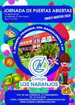 Cartel Jornada Puertas Abiertas 10 MARZO 2018 COLOR