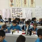 2º en el laboratorio. Colegio Los Naranjos