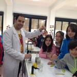 6º B en el laboratorio