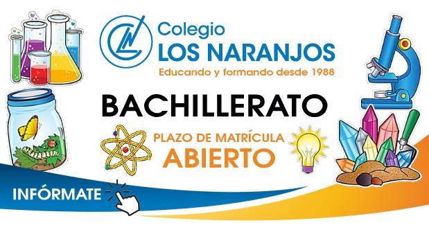 Bachillerato: Plazo de matrícula abierto para el curso 18/19