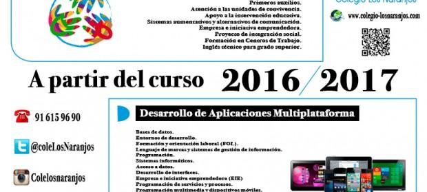 Ciclos Formativos De Grado Superior Colegio Los Naranjos