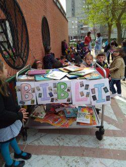 Los niños de Educación Infantil disfrutamos mucho festejando el día del libro.